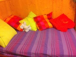 Cama para siesta